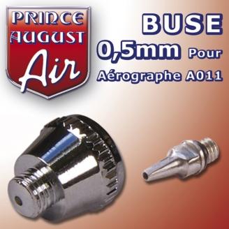 Buse 0,5 pour aérographe A011 - PRINCE AUGUST AA015
