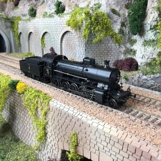 Locomotive série Elefant SBB Ep III Digital Son- HO 1/87 - TRIX 25252