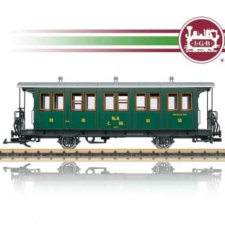 Voiture voyageur 3 CL RhB train de jardin-G 1/22.5-LGB 30342
