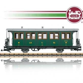 Voiture voyageur 3 CL RhB train de jardin-G 1/22.5-LGB 30341