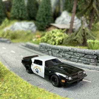 Pontiac Firebird Highway Patrol - BUSCH 41712 - HO 1/87