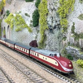 Unité multiple diesel classe 601, DB Ep IV- N 1/160 - FLEISCHMANN 741005