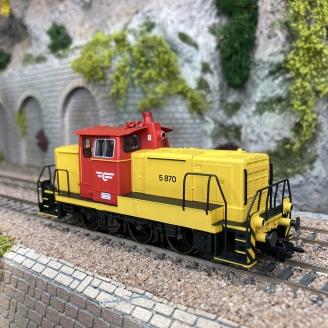 Locomotive diesel série Di5, NSB, Ep IV digital son 3R - MARKLIN 37244 - HO 1/87