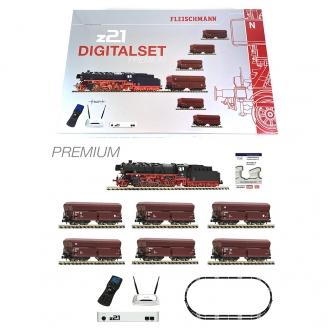 Coffret démarrage digital Premium z21 vapeur 044 DB Ep IV - ROCO 931898 - HO 1/87