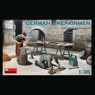 Figurines de Réparateurs Allemand - MINIART 35353 - 1/35