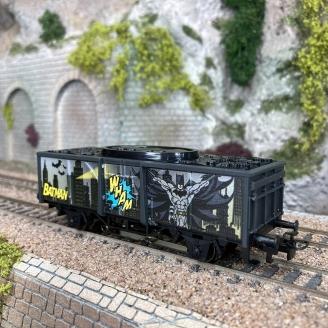 Wagon Batman + figurine, Start Up - MARKLIN 44827 - HO 1/87