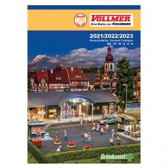 Catalogue général Vollmer anglais et allemand 2021/22/23 276 pages - Vollmer