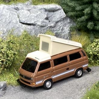 Volkswagen T3 Westfalia / Camper - SCHUCO 452660600 - HO 1/87
