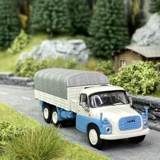 Camion bâché Tatra T148 - SCHUCO 452663000 - HO 1/87