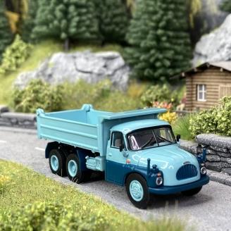 Camion benne Tatra T138 - SCHUCO 452662900 - HO 1/87