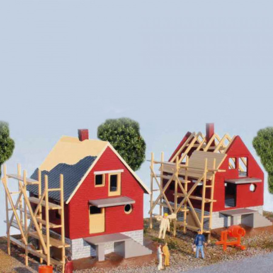 2 maisons en construction-HO-1/87-SAI 210