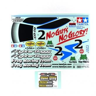 Planche de Stickers Neo Fighter - TAMIYA 9495811 - 1/10