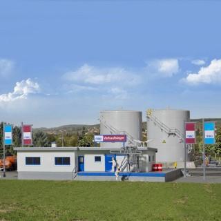 Réservoir de gaz avec bâtiment -N-1/160-KIBRI 37469