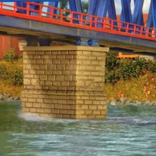 Pilier central de Pont-N-1/160-KIBRI 37674