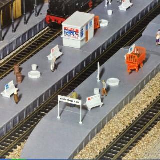 Set accessoires de Gare-N-1/160-KIBRI 37755