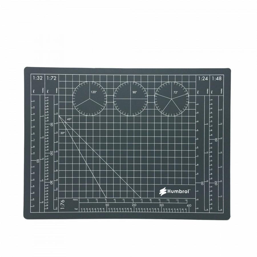 Plaque de découpe cutter avec angle de traçage-Humbrol
