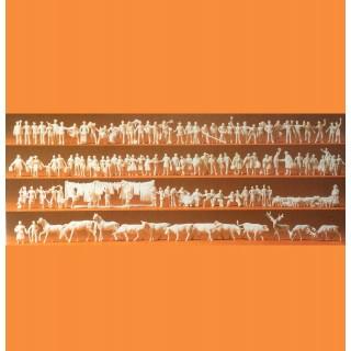 120 figurines à peindre personnages et animaux-N-1/160-PREISER