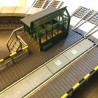 Pont tournant électrique 48 voies-HO-1/87-FLEISCHMANN