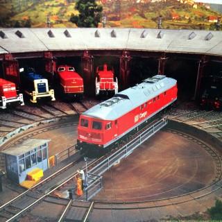 Pont tournant électrique 40 voies maxi-ho-1/87-ROCO