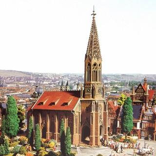 Grande église cathédrale-HO-1/87-VOLLMER