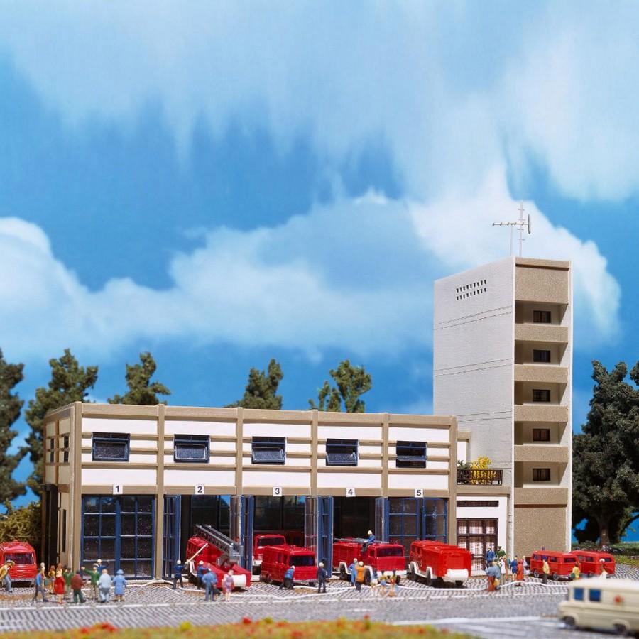Caserne de pompiers moderne-N-1/160-VOLLMER