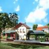 Petite gare de village-HO-1/87-AUHAGEN 11331