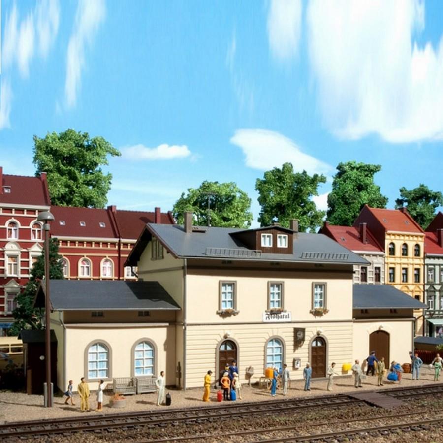 Gare de petite ville-HO-1/87-AUHAGEN 11368