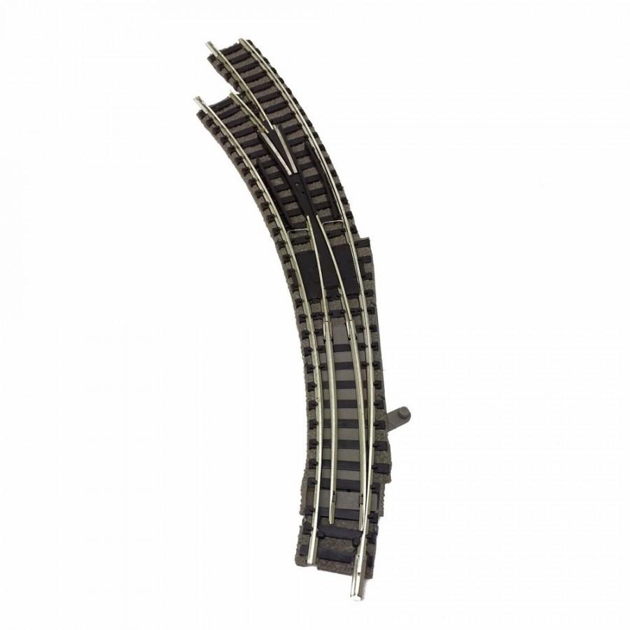 Aiguillage courbe gauche-N-1/160-FLEISCHMANN 9174