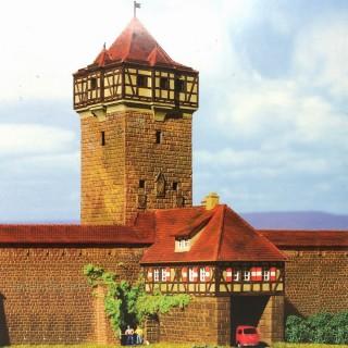 Porte fortifiée avec tour-N-1/160-KIBRI