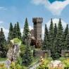 Tour château en ruine-HO-1/87-FALLER