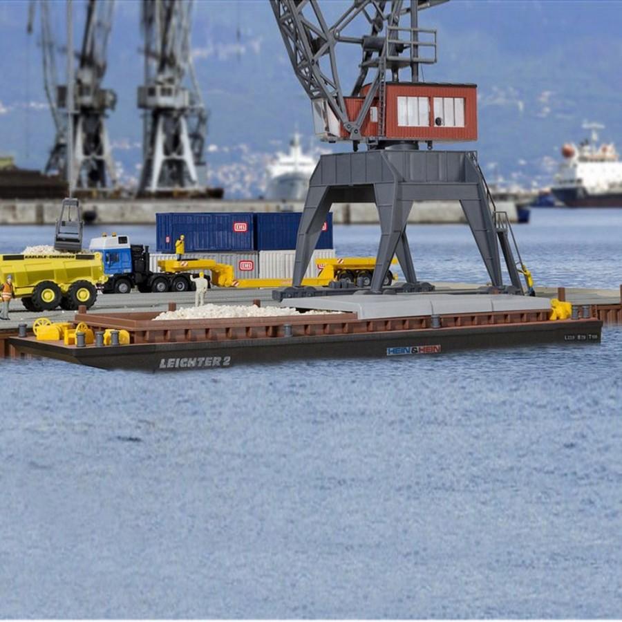 Barge de transport fluviale-HO-1/87-KIBRI