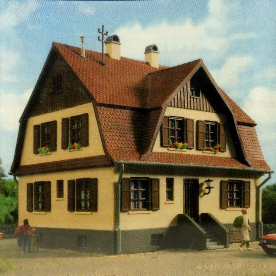Grande maison individuelle-HO-1/87-KIBRI
