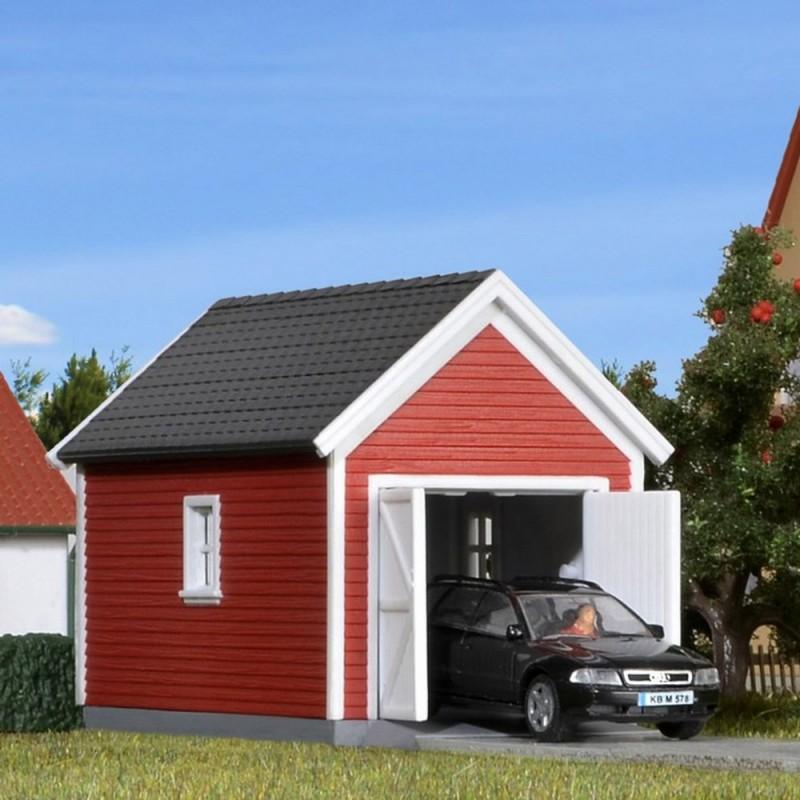 Garage ho kibri 38150 modelisme ferroviaire diorama neuf kibri - Cabane jardin atelier besancon ...