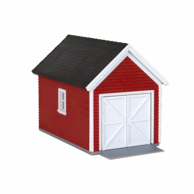 Garage ho kibri 38150 modelisme ferroviaire diorama neuf kibri for Cabane de jardin suisse