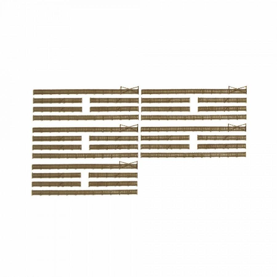 Set de clôtures type bois pour dioramas-N-1/160-KIBRI