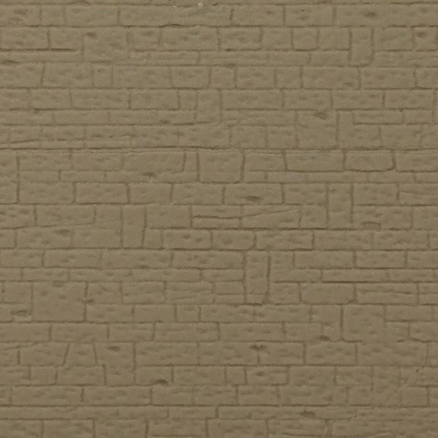 plaque mur en pierres maçonnées-HO-1/87-KIBRI