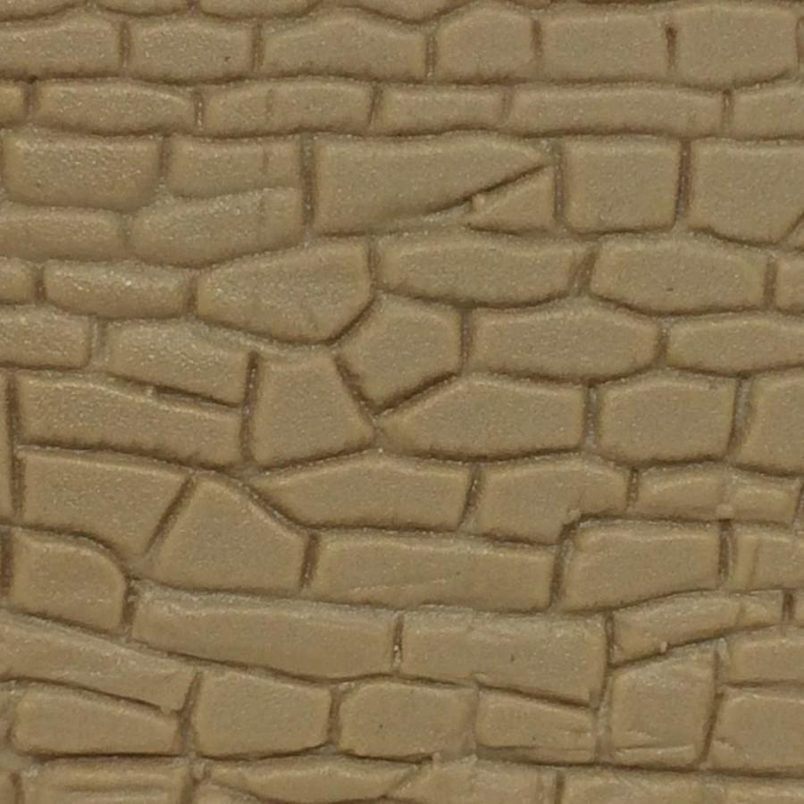 plaque mur en pierres maçonnées irrégulières-HO-1/87-KIBRI