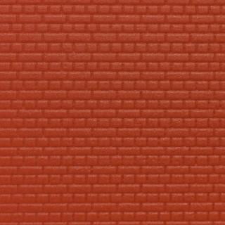 plaque mur en briques rouges-HO-1/87-KIBRI