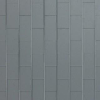 Plaque plastique toiture zinc-HO-1/87-KIBRI 34148
