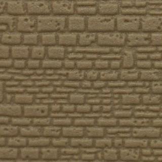 Plaque plastique mur pierres irrégulières maçonnées-N-1/160-KIBRI 37960