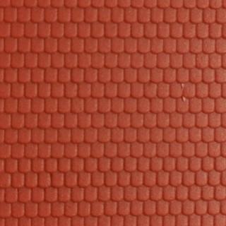 Plaque plastique petites tuiles plates et tuiles mécaniques-N-1/160-KIBRI 37970
