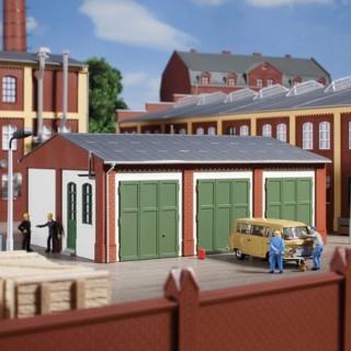 entrepôt garage-HO-1/87-AUHAGEN 11438