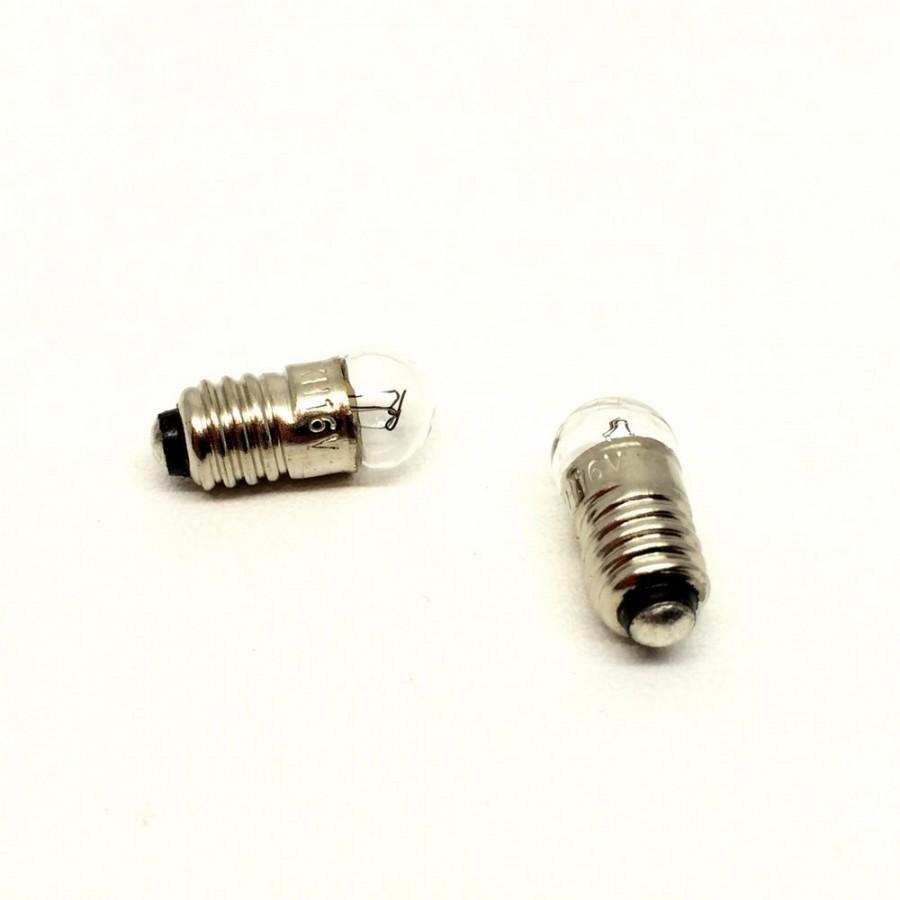 2 ampoules boules à visse E5.5 16 volts -HO-1/87-9733