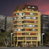 Immeuble avec éclairage led-HO-1/87-KIBRI 48218