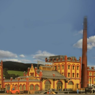 Ancienne usine-HO-1/87-KIBRI 39826