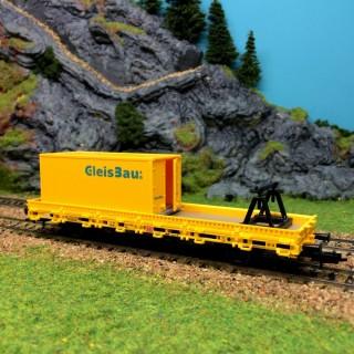 Wagon complémentaire pour wagon transport de ballast-HO-1/87-KIBRI