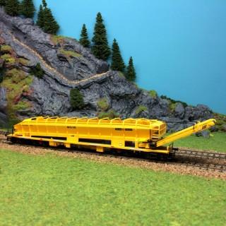 Wagon élévateur et transport de ballast-HO-1/87-KIBRI