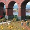 Socle de pillier pour pont -HO-1/87-VOLLMER