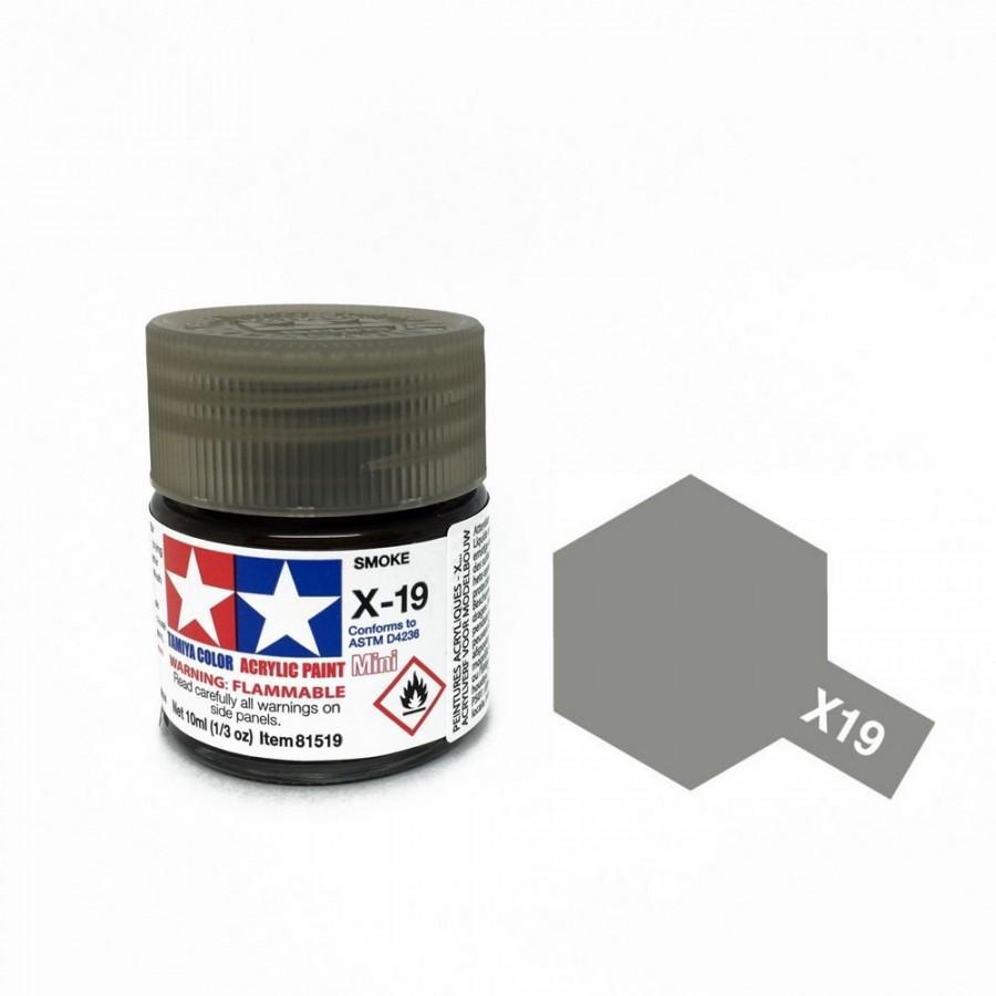 Fumé brillant pot de 10ml-TAMIYA X19