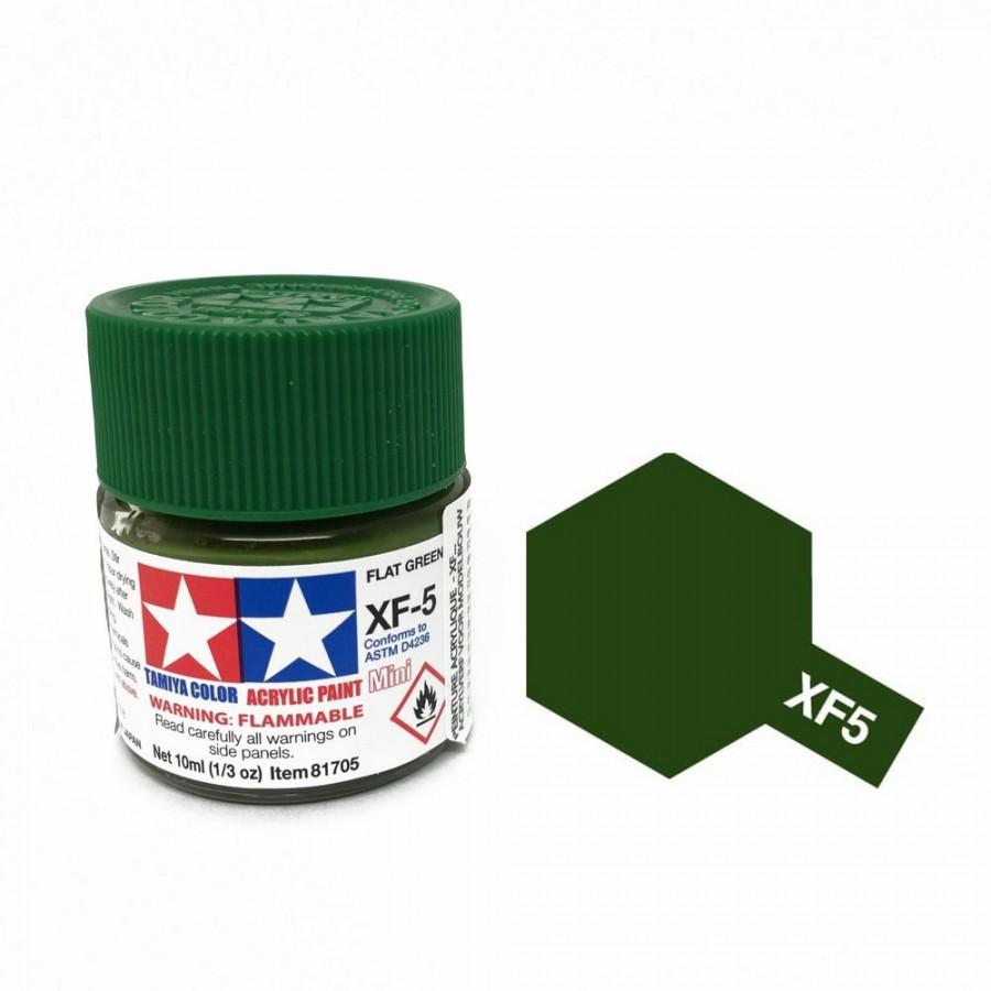 Vert mat pot de 10ml-TAMIYA XF5
